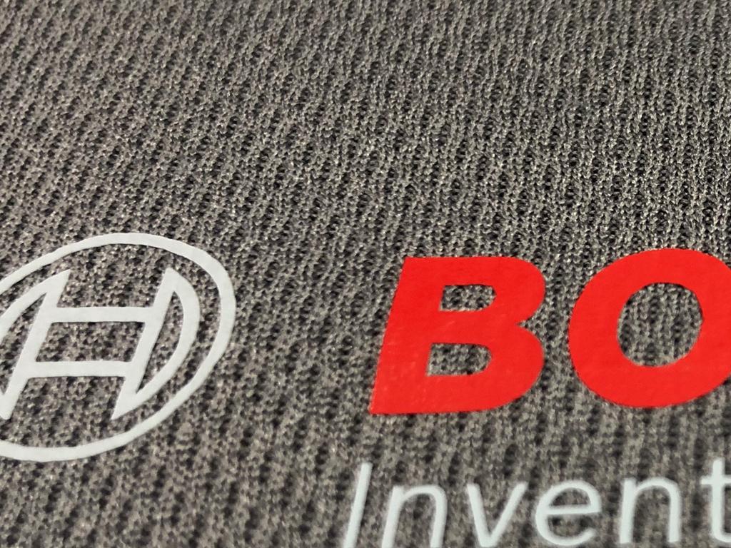 Darstellung eines Flexdruck - Textilveredelung